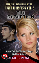 The Deception, Book Cover, 1st edition by Kirok-of-LStok