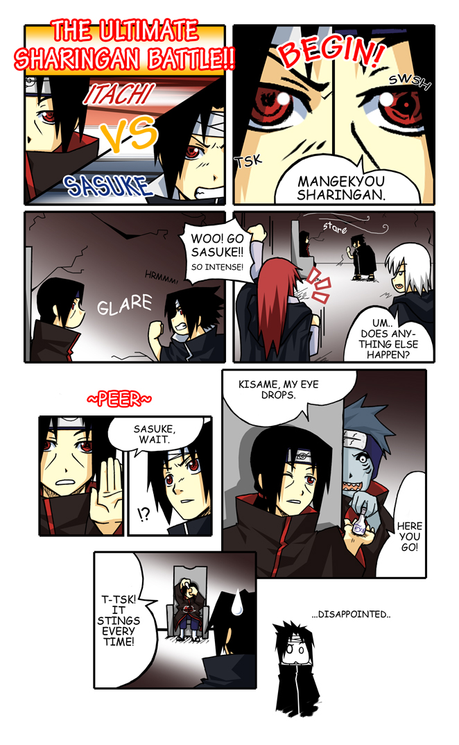 Ultimate Sharingan Battle by DeEtta