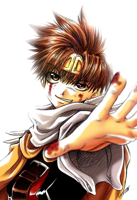 My Charrie: Raiden Goku_by_DeEtta