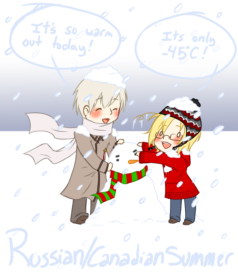 A Russian-Canadian Summer by Nova-Bee