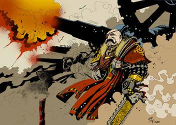 Cannon Fodder by SpineBender