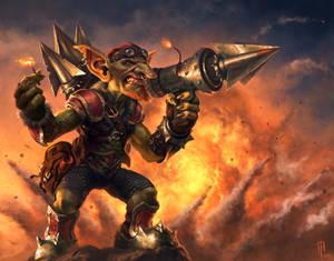 Goblins vs. Gnomes - Goblin Bolt Warhead Launcher