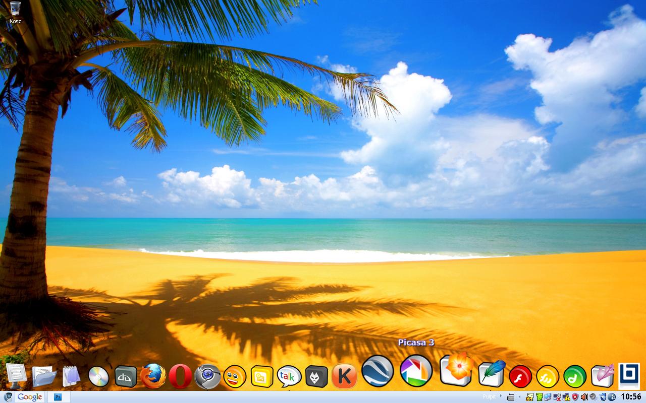 My Beach Windows XP By Karollorak