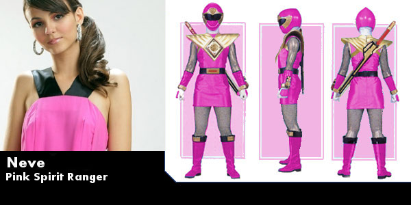 Pink Spirit Ranger by Seripa-chan