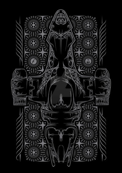 Pinstripe Serenity by 6amcrisis
