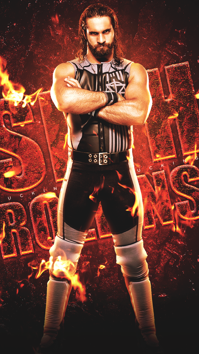 seth f'n rollins - iphone 6 wallpaperblitzfinn on deviantart