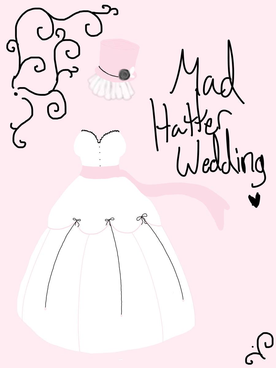 Wedding Dress design by AskColeTheFaun