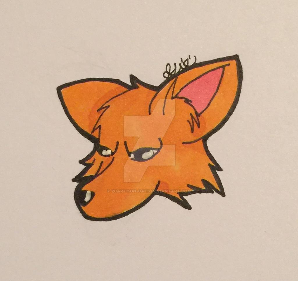 Fox?? by 2Cartoon-Cats