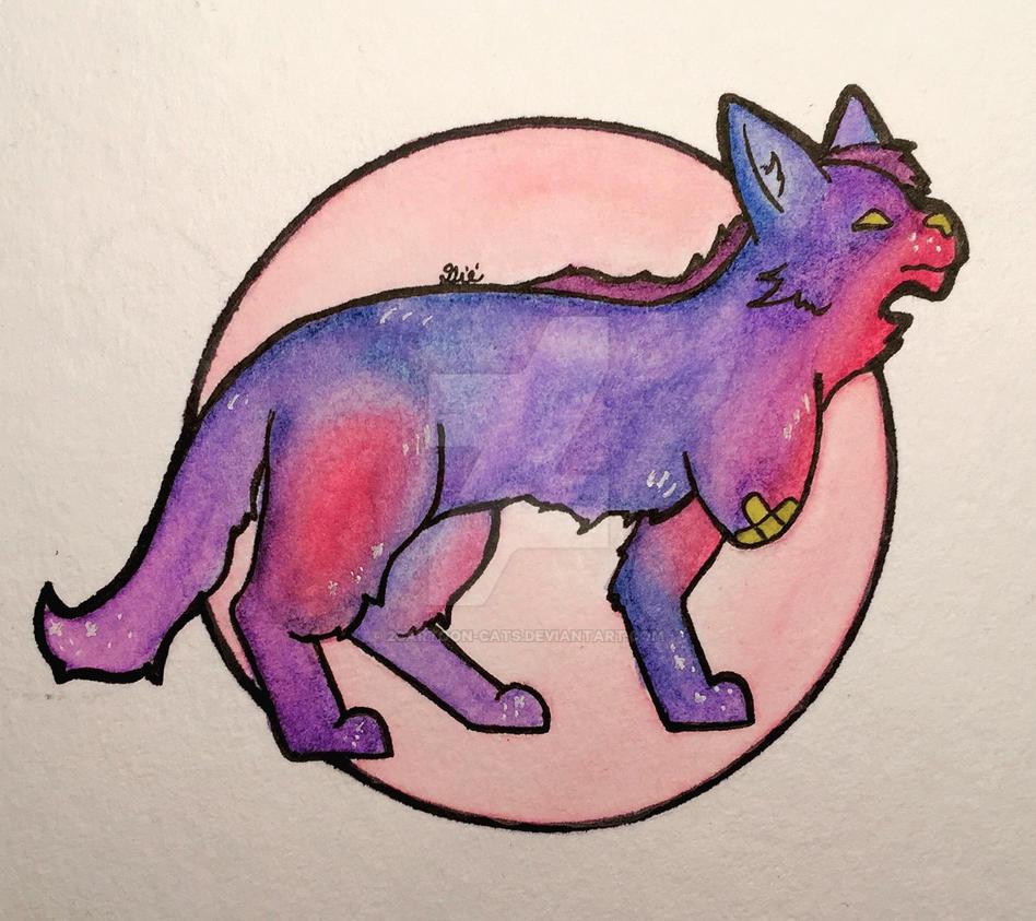 Star Cat by 2Cartoon-Cats