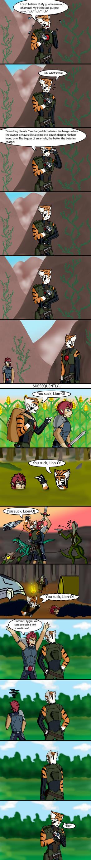 Misunderstood Tygra... by Jackasaurusrex