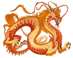Orange Ryu Dragon (CLOSED)