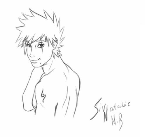 Kakashi's face by LucyMishima123