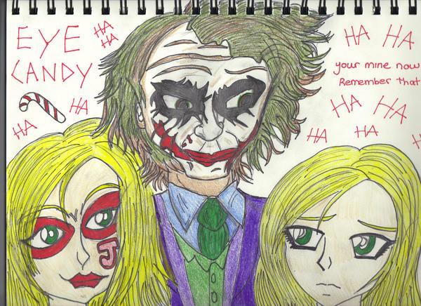 The jokers eye candy by Diamond-Rainbow