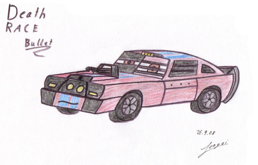 Death Race Bullet -gift- by Tengai-Skyline
