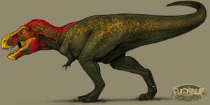 Tyrannosaurus (Deviljho) King (Evosaur)
