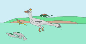 Swan Wyvern by OtakuSauridae