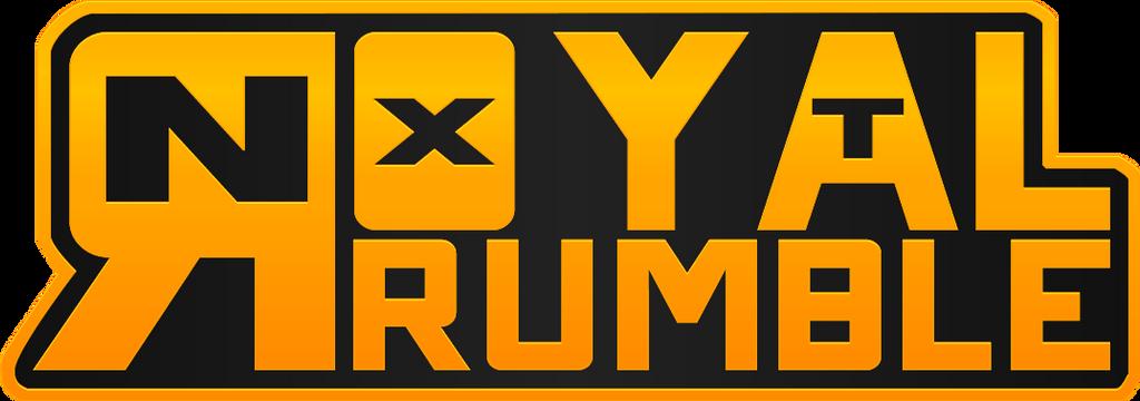 nxt royal rumble logo - 3iamrockenbach on deviantart
