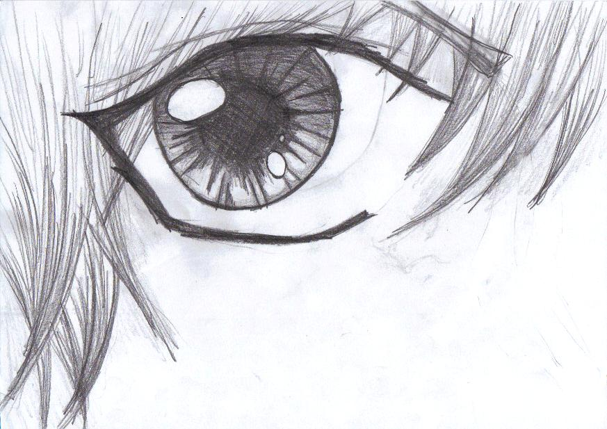 An eye... by Mangamania13