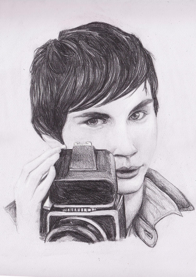 Logan Lerman by Mangamania13