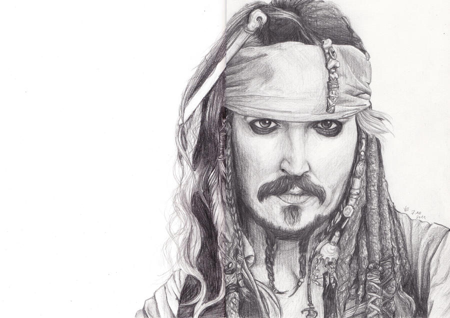 Jonny Depp by Mangamania13