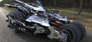 4 wheel armored car (Render Version)