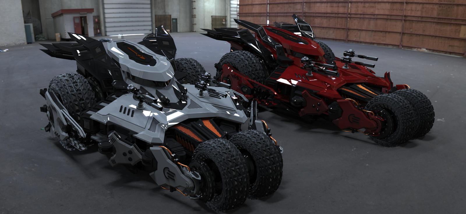 4 wheel armored car (Render Version 2) by pauldavemalla