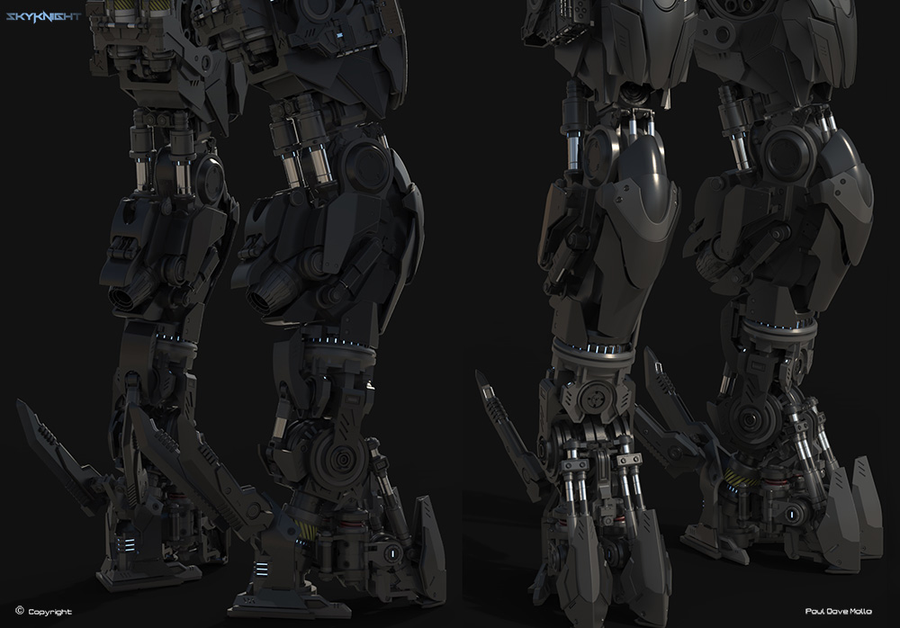 New mech for 2014 by pauldavemalla