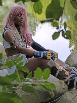 SAN Lightning cosplay