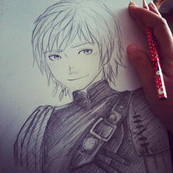 Hiccup - How to Train Your Dragon 2 by Mercredy