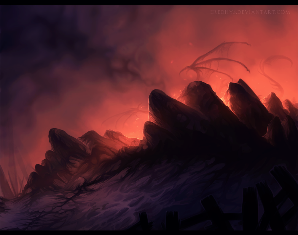 Where the dragons dwell. by Eredhys