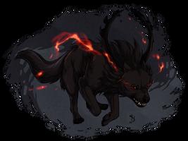Hellhound - Commission. by Eredhys