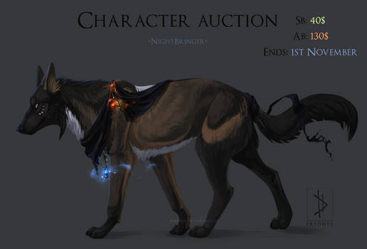 [CLOSED] HALLOWEEN Canine Character auction!