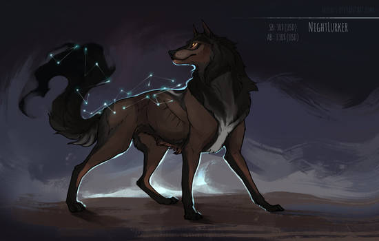 [CLOSED] 'Night Lurker' Canine auction
