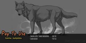 [P2U] Wolf Template