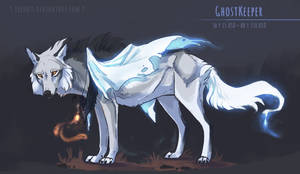 [CLOSED] Ghost Keeper - Canine adoptable auction by Eredhys