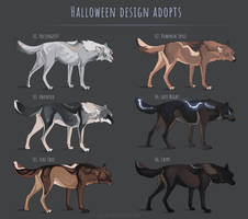 [CLOSED]  Canine Halloween adopts