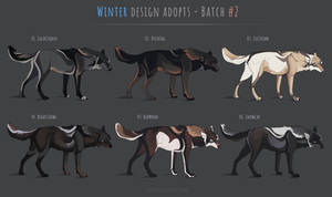 [CLOSED] Canine winter adopts - batch #2