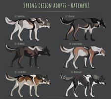[CLOSED] Canine spring adoptables - Batch #02
