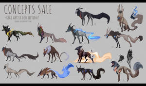 [CLOSED] Canine designs and concepts for sale