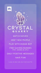 Join the Crystal Quarry Discord server!!
