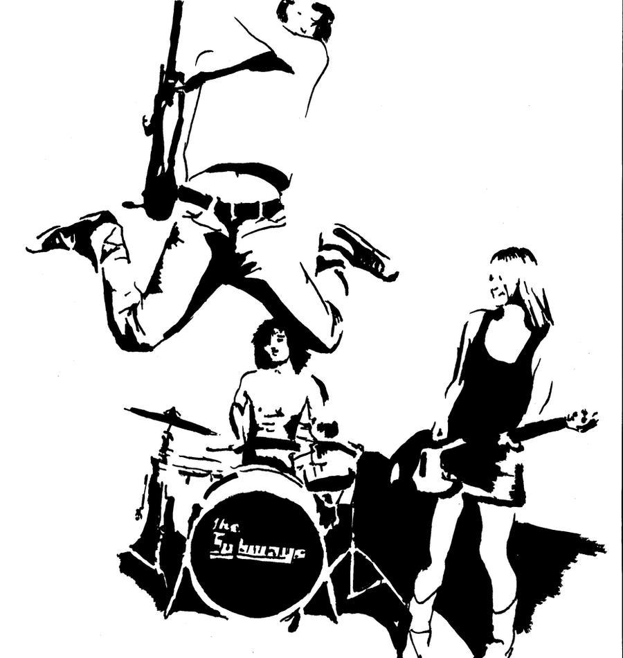 Rock'n Roll Band Clip Art