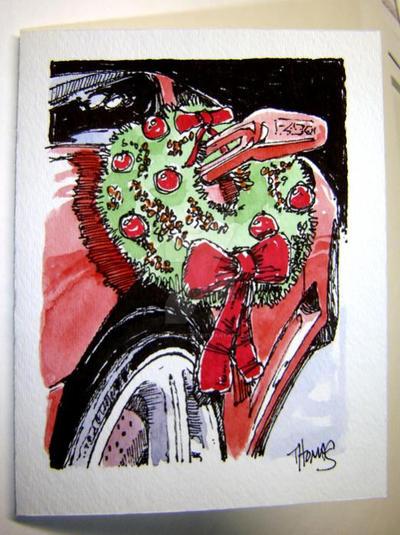 Ferrari christmas card f430 by ferrariartist on deviantart for Ferrari christmas