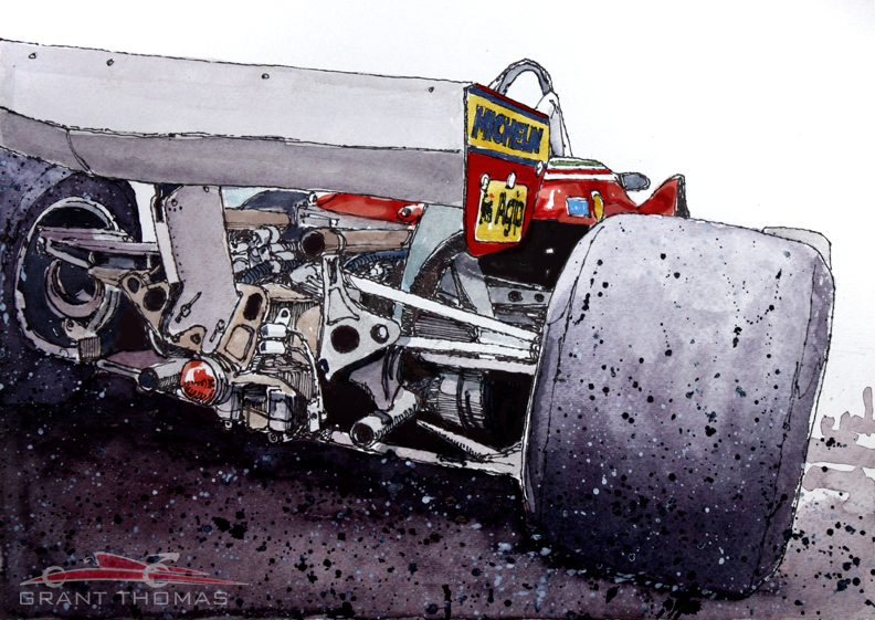Ferrari 312 T5 'Gilles Ride'