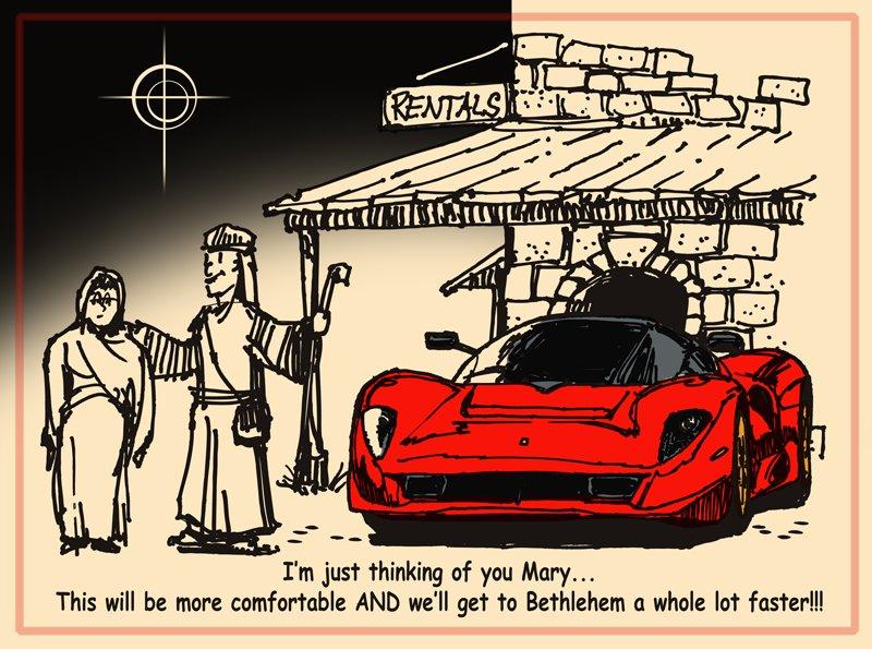 Christmas time rms motoring forum for Ferrari christmas