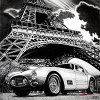 Eiffel Tour de France 0507GT by ferrariartist