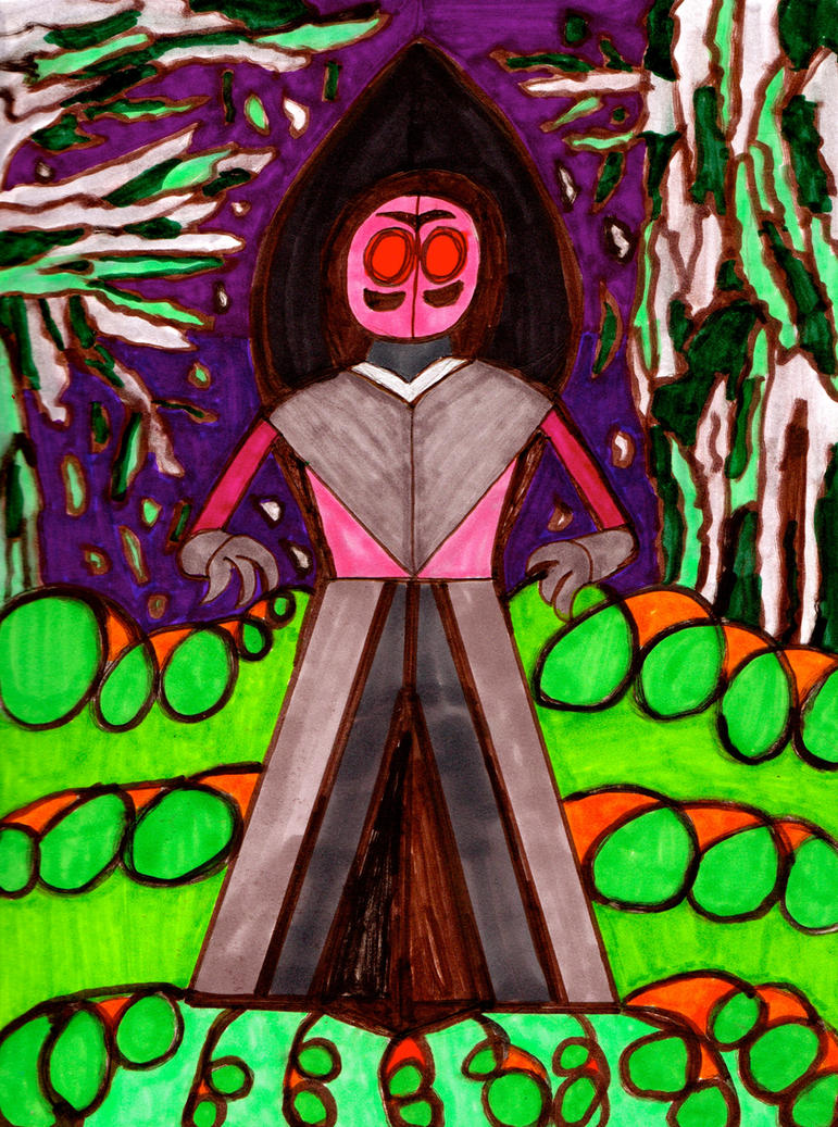 Flatwoods Monster by Leonman-42