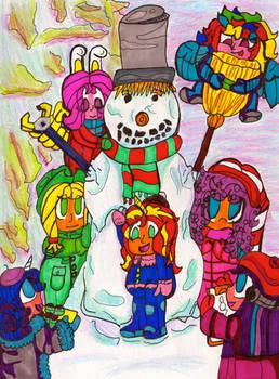 Let's Buid a Snowman