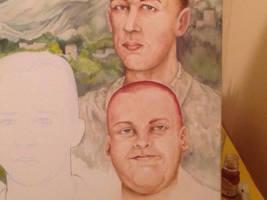 Oil painting Wip