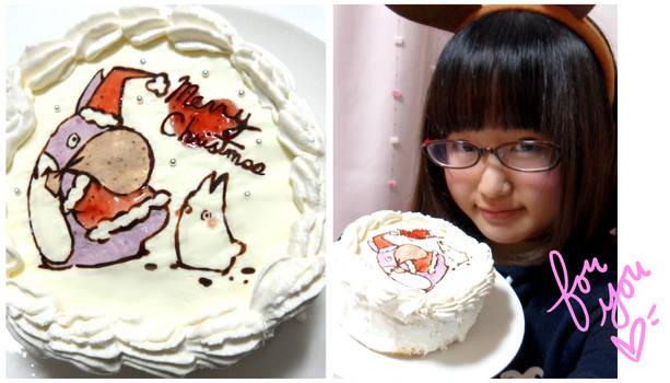 totoro cake! (tutorial in description)