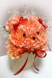 flower teddy bear (tutorial in description)